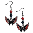 Washington Capitals® Fan Bead Dangle Earrings