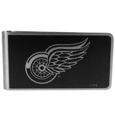 Detroit Red Wings® Black and Steel Money Clip