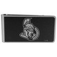 Ottawa Senators® Black and Steel Money Clip