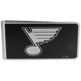 St. Louis Blues® Black and Steel Money Clip