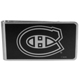 Montreal Canadiens® Black and Steel Money Clip