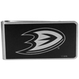 Anaheim Ducks® Black and Steel Money Clip