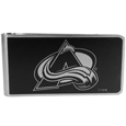 Colorado Avalanche® Black and Steel Money Clip