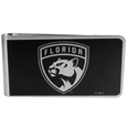 Florida Panthers® Black and Steel Money Clip