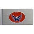 Washington Capitals® Brushed Metal Money Clip