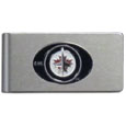 Winnipeg Jets™ Brushed Metal Money Clip