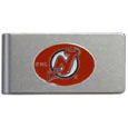 New Jersey Devils® Brushed Metal Money Clip
