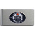 Edmonton Oilers® Brushed Metal Money Clip