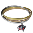 Columbus Blue Jackets® Tri-color Bangle Bracelet