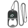 Dallas Stars™ Bottle Opener Tag Necklace