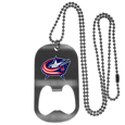 Columbus Blue Jackets® Bottle Opener Tag Necklace