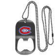 Montreal Canadiens® Bottle Opener Tag Necklace