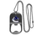 Vancouver Canucks® Bottle Opener Tag Necklace