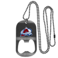 Colorado Avalanche® Bottle Opener Tag Necklace