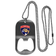 Florida Panthers® Bottle Opener Tag Necklace