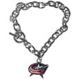 Columbus Blue Jackets® Charm Chain Bracelet