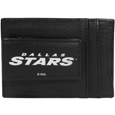 Dallas Stars™ Logo Leather Cash and Cardholder