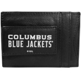 Columbus Blue Jackets® Logo Leather Cash and Cardholder