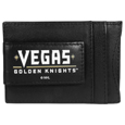 Vegas Golden Knights® Logo Leather Cash and Cardholder