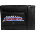 Colorado Avalanche® Logo Leather Cash and Cardholder