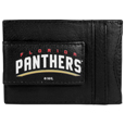 Florida Panthers® Logo Leather Cash and Cardholder