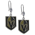 Vegas Golden Knights® Crystal Dangle Earrings