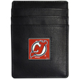 New Jersey Devils® Leather Money Clip/Cardholder Packaged in Gift Box