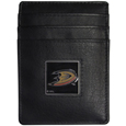 Anaheim Ducks® Leather Money Clip/Cardholder