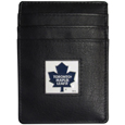 Toronto Maple Leafs Leather Money Clip/Card holder - Officially licensed Toronto Maple Leafs Money Clip/Card Holder won't make you choose between paper or plastic because they stow both easily. Features our sculpted and enameled Toronto Maple Leafs emblem on the front of the Leather Money Clip/Card holder. This Toronto Maple Leafs Leather Money Clip/Card holder is packaged in a gift box.