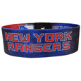 New York Rangers Stretch Bracelets - Instantly become a team VIP with these colorful wrist bands! These are not your average, cheap stretch bands the stretch fabric and dye sublimation allows the crisp graphics and logo designs to really pop. A must have for any New York Rangers fan! Thank you for visiting CrazedOutSports