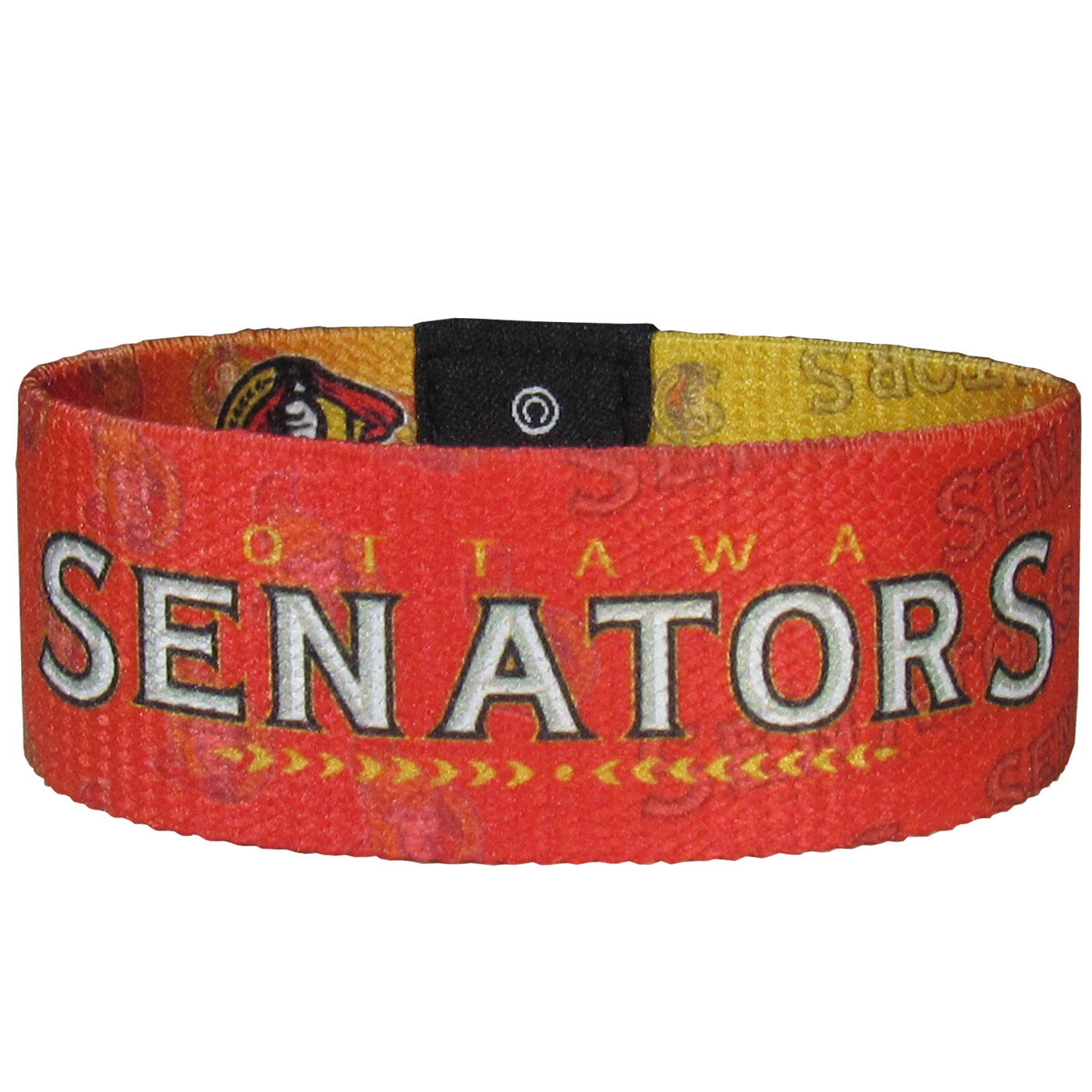 Ottawa Senators® Stretch Bracelets - Instantly become a team VIP with these colorful wrist bands! These are not your average, cheap stretch bands the stretch fabric and dye sublimation allows the crisp graphics and logo designs to really pop. A must have for any Ottawa Senators® fan!