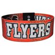 Philadelphia Flyers Stretch Bracelets - Instantly become a team VIP with these colorful wrist bands! These are not your average, cheap stretch bands the stretch fabric and dye sublimation allows the crisp graphics and logo designs to really pop. A must have for any Philadelphia Flyers fan!
