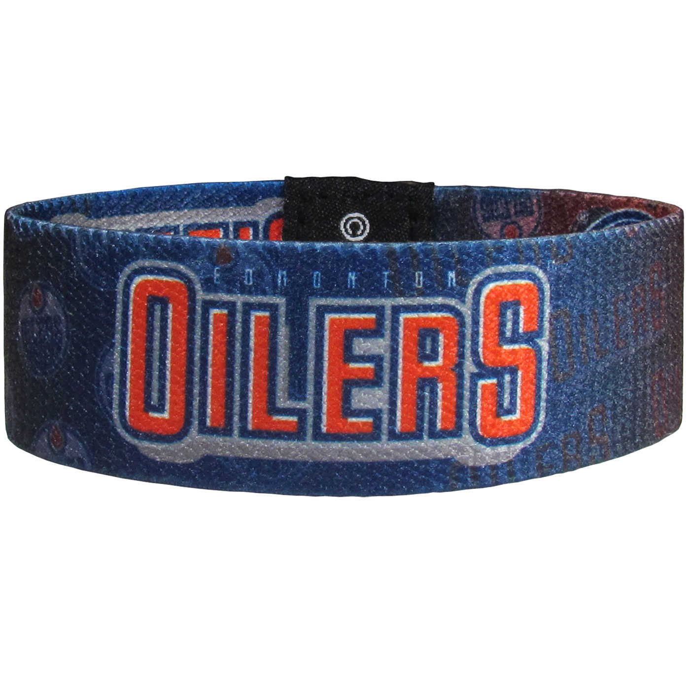 Edmonton Oilers® Stretch Bracelets - Instantly become a team VIP with these colorful wrist bands! These are not your average, cheap stretch bands the stretch fabric and dye sublimation allows the crisp graphics and logo designs to really pop. A must have for any Edmonton Oilers® fan!