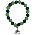 Vancouver Canucks  Fan Bead Bracelet - Flash your Vancouver Canucks  spirit with this bright stretch Vancouver Canucks Fan Bead Bracelet. This new Vancouver Canucks Fan Bead Bracelet features multicolored Vancouver Canucks beads on stretch cord with a nickel-free enameled chrome Vancouver Canucks charm. This Vancouver Canucks Fan Bead Bracelet adds the perfect pop of color to your game day accessories.