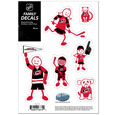 "Carolina Hurricanes Small Family Decal Set - Show off your Carolina Hurricanes pride with our Carolina Hurricanes family automotive decals. The Carolina Hurricanes Small Family Decal Set includes 6 individual family themed decals that each feature the Carolina Hurricanes logo. The 5"" x 7"" Carolina Hurricanes Small Family Decal Set is made of outdoor rated, repositionable vinyl for durability and easy application."