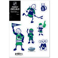Vancouver Canucks® Family Decal Set Small
