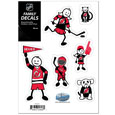 "New Jersey Devils Small Family Decal Set - Show off your New Jersey Devils pride with our New Jersey Devils family automotive decals. The New Jersey Devils Small Family  includes 6 individual family themed decals that each feature the New Jersey Devils Small Family  logo. The 5"" x 7"" New Jersey Devils Small Family  is made of outdoor rated, repositionable vinyl for durability and easy application."