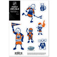 "Edmonton Oilers Small Family Decal Set - Show off your Edmonton Oilers pride with our Edmonton Oilers family automotive decals. The Edmonton Oilers Small Family Decal Set includes 6 individual family themed decals that each feature the team logo. The 5""  x 7"" Edmonton Oilers Small Family Decal Set is made of outdoor rated, repositionable vinyl for durability and easy application."