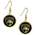 Florida Panthers® Gold Tone Earrings