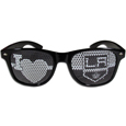 Los Angeles Kings  I Heart Game Day Shades - Our officially licensed I Heart game day shades are the perfect accessory for the devoted Los Angeles Kings  fan! The sunglasses have durable polycarbonate frames with flex hinges for comfort and damage resistance. The lenses feature brightly colored team clings that are perforated for visibility.