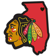 Chicago Blackhawks® Home State Decal