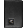 Buffalo Sabres iPad Air Folio Case - This attractive Buffalo Sabres iPad Air folio case provides all over protection for your tablet while allowing easy flip access. This Buffalo Sabres iPad Air folio case is designed to allow you to fully utilize your tablet without ever removing it from the padded, protective cover. The enameled Buffalo Sabres emblem makes this case a great way to show off your Buffalo Sabres pride!