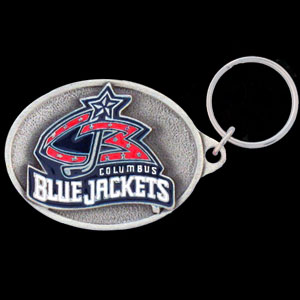 NHL Key Ring - Columbus Blue Jackets - Officially licensed NHL key ring featuring the  Columbus Blue Jackets. Thank you for visiting CrazedOutSports