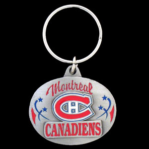 NHL Key Ring - Montreal Canadiens - Officially licensed NHL key ring featuring the  Montreal Canadiens. Thank you for visiting CrazedOutSports