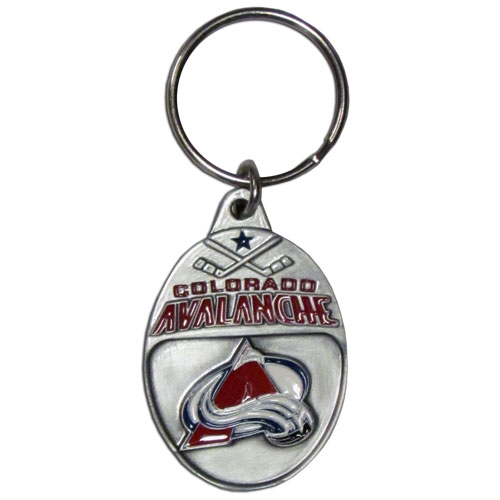 NHL Key Ring - Colorado Avalanche - Officially licensed NHL key ring featuring the Colorado Avalanche.
