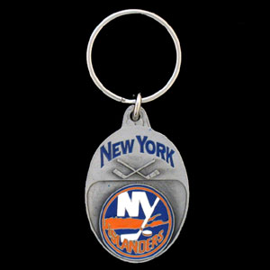 NHL Key Ring - Islanders - Officially licensed NHL key ring featuring the  Islanders.