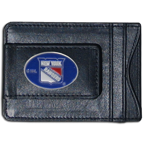 New York Rangers Leather Cash & Cardholder - Officially licensed NHL New York Rangers fine leather cash & cardholder is the perfect way to organize both your cash and cards while showing off your New York Rangers spirit! Thank you for visiting CrazedOutSports