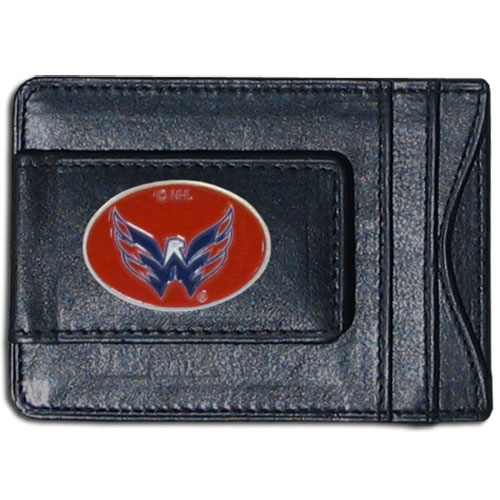 Washington Capitals Leather Cash & Cardholder - Officially licensed NHL Washington Capitals fine leather cash & cardholder is the perfect way to organize both your cash and cards while showing off your Washington Capitals spirit! Thank you for visiting CrazedOutSports
