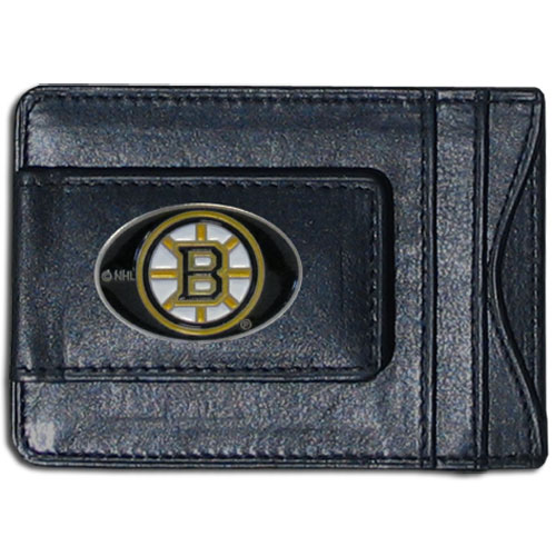 Boston Bruins Leather Cash & Cardholder - Officially licensed NHL Boston Bruins fine leather cash & cardholder is the perfect way to organize both your cash and cards while showing off your Boston Bruins spirit! Thank you for visiting CrazedOutSports