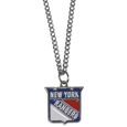 New York Rangers Chain Necklace with Small Charm - Make a statement with this NHL New York Rangers chain necklace with Small Charm . The 20 inch New York Rangers Chain Necklace with Small Charm features a fully cast, high polish New York Rangers pendant with vivid enameled New York Rangers details. Perfect accessory for a New York Rangers game day and nice enough to wear everyday! Thank you for visiting CrazedOutSports